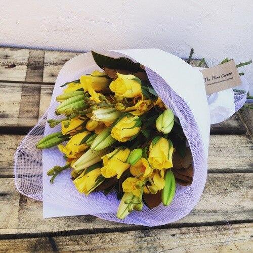 Seasonal Yellow Bouquet